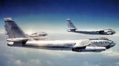 Бомбардировщик сбросил водородную бомбу на США