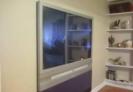 Как сделать плоскую панель из обычного телевизора