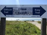 Пляж, который стал популярным, потому что с него запрещают убирать стёкла