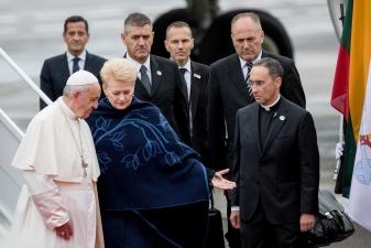 """Папа Римский призвал Литву стать """"мостом между Восточной и Западной Европой"""""""