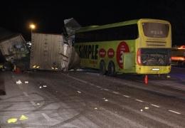 Еще одно ДТП в Ида-Вирумаа с участием автобуса Lux Express: один человек погиб, пятеро остаются в больницах