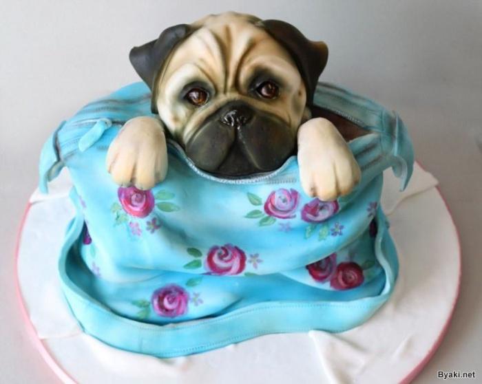 Невероятно реальные торты в виде животных