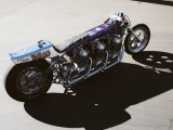 Kiyo's Garage Galaxy — трехдвигательный мотоцикл для рекордов скорости