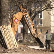 Три нарвских парка благоустроят один за другим