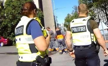 Эстонский полицейский предупредил иностранных грабителей: мы вас все равно поймаем