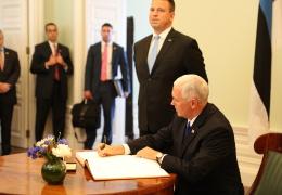 На переговорах Ратаса и Пенса обсуждалось размещение в Эстонии ЗРК Patriot