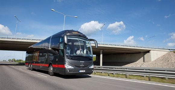 Lux Express добавит на линии Таллинн-Нарва новые остановки