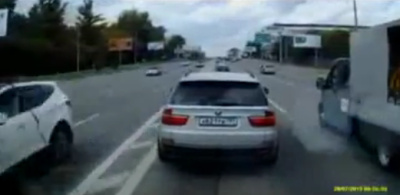 В Москве нашли автохама на BMW X5