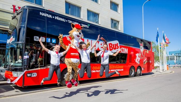 Superbus прекращает деятельность в Эстонии с 31 июля