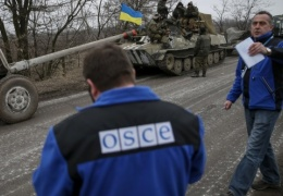 В Донбассе под обстрел попали представители ОБСЕ и журналисты ВГТРК