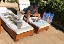 Дэвид Бекхэм почти неделю собирал домик из Lego для дочери