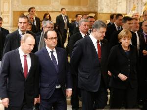 """""""Нормандская четверка"""" объявила об итогах переговоров в Минске по украинскому кризису"""