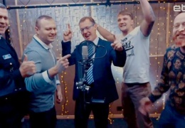 Таммисте, Чердаков, Дмитриев и другие известные нарвитяне спели рэп-песню