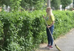 К работе в трудовых дружинах приступили 90 нарвских школьников