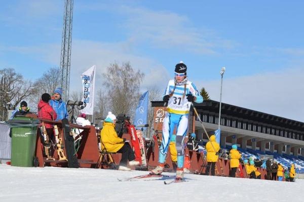 Нарвитянка София Балабанова лучшая среди Эстонской сборной