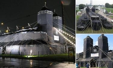 Немецкие скауты поставили самую большую в мире палатку