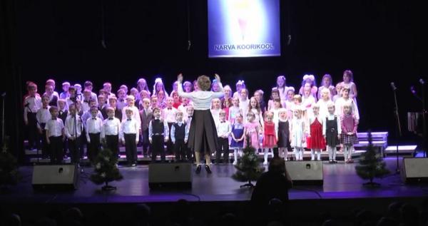 35 лет нарвской хоровой школе. Юбилейный концерт.
