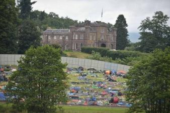 Парк после рок-фестиваля