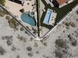 Засуха в Калифорнии, вид сверху