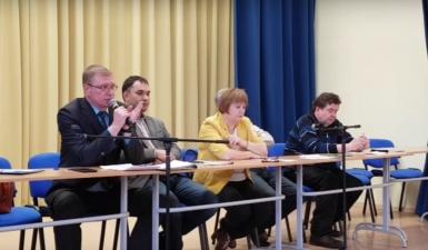 На открытую встречу с главами города-центристами пришло 30 человек