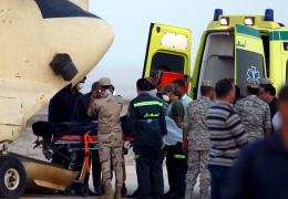 В морг Каира доставлены более 160 тел погибших в катастрофе А321