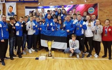 Сборная Эстонии по таэквондо привезла из Чехии 12 золотых медалей