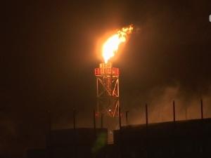 VKG: факелы пламени в Кохтла-Ярве - это полностью контролируемый процесс