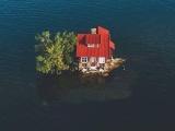 """Остров """"Just Room Enough Island - маленький рай для мизантропов"""