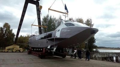 Судно на подводных крыльях Валдай 45Р