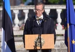 Президент Ильвес: вместо деструктивной жажды возврата к прошлому нужно обсуждать, куда вести Эстонию дальше