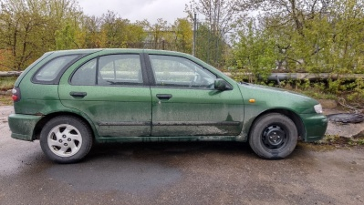 За вождение без прав 18-летнего нарвитянина посадили на 15 суток и конфисковали автомобиль