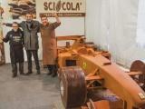 Кондитеры сделали болид Михаэля Шумахера из шоколада