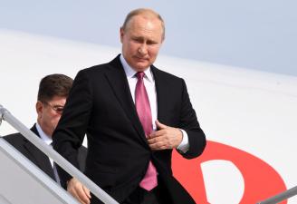 Путин заявил о готовности России к конкуренции за влияние в Африке