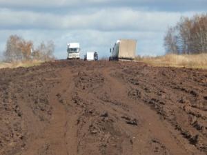 Ужасные дороги в России ближе чем Вы думаете