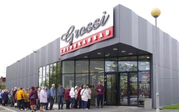 В Нарве появится первый магазин Grossi