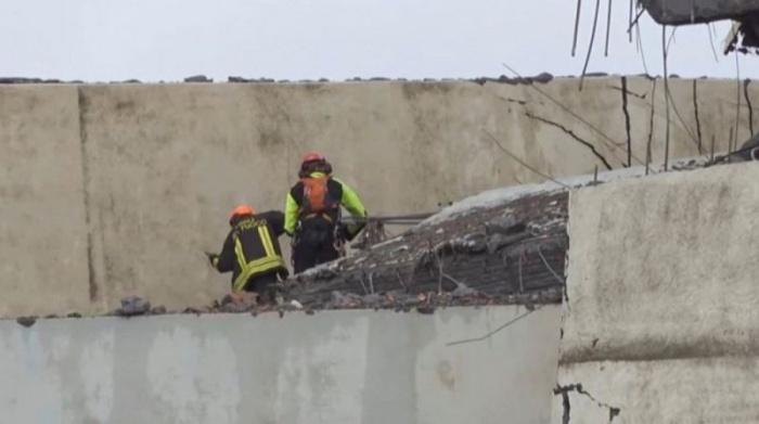 Ужасные последствия обрушения моста в Италии