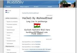 """Курдский хакер взломал сайт ДК """"Ругодив"""" в Нарве"""