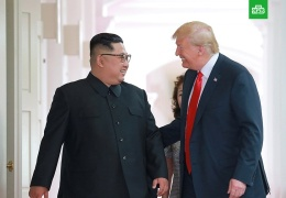 Трамп и Ким Чен Ын приняли решение обменяться визитами, сообщили в Пхеньяне