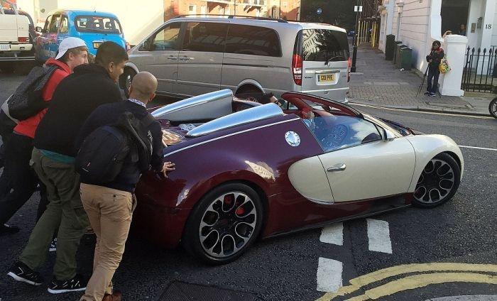 Bugatti Veyron тоже может сломаться в самый неподходящий момент