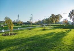 Строительство в Нарве парка к столетию Эстонской Республики продолжится в 2019 году