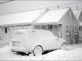 """Снежный шторм """"Немо"""" парализовал движение на улицах Бостона"""