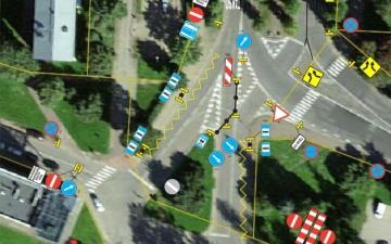 Остановку междугородних автобусов в Нарве перенесли к мосту через железную дорогу