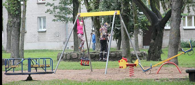 Город поможет КТ строить детские площадки