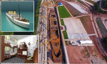 Китайцы строят новый Титаник