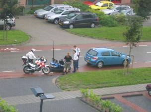 Полиция задержала опасного автоугонщика...