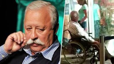 Леонид Якубович вернулся из Черногории в инвалидном кресле