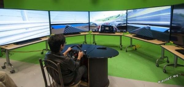 Сногсшибательная геймерская комната