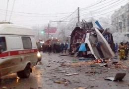Опубликован список раненых при взрыве в троллейбусе