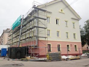 Построенный еще до войны дом станет украшением улицы