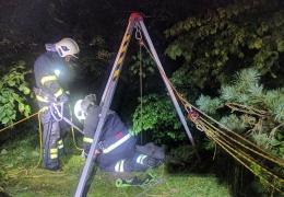 В Тойла мужчина упал с 10-метрового обрыва